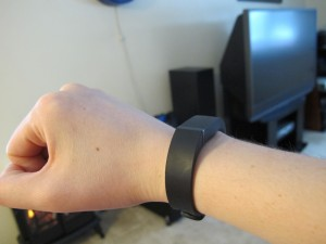 My fitbit flex on my wrist