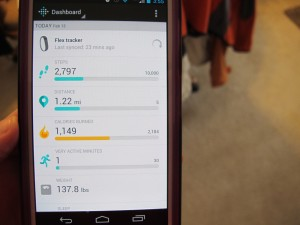 The app for fitbit flex