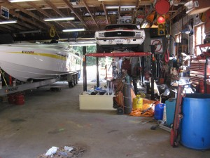 Cleaner garage