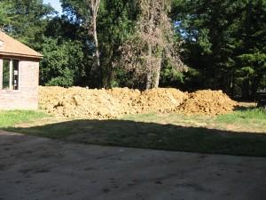 Lots of dirt