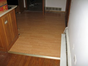 Kitchen Tile After