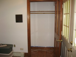 Broom Closet Painted