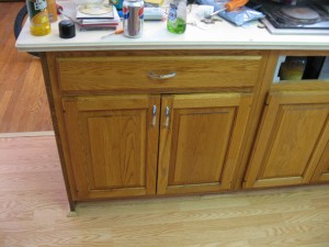Kitchen Cabinet After Cleaning
