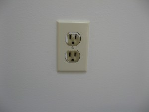 Outlet & Cover Before